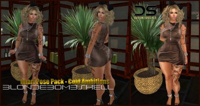 DS -- Imari Pose Pack