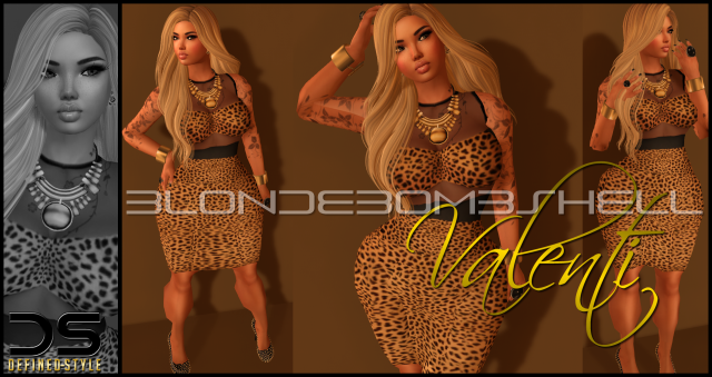 DS -- Valenti -- Spotlight Dress Print