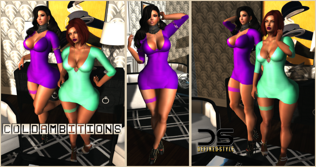 DS -- Cold Ambitions Candi Dress