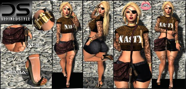 DS -- Nasty -- Canday shop - Moda- ANE- Ryca
